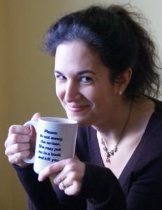 Dawn with Drinking Mug